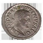 マクシミヌス帝時代のデナリウス貨