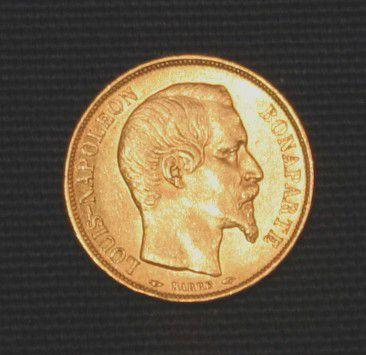 フランス地金型金貨ナポレオン金貨
