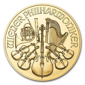 地金型金貨オーストリアウィーンハーモニー金貨