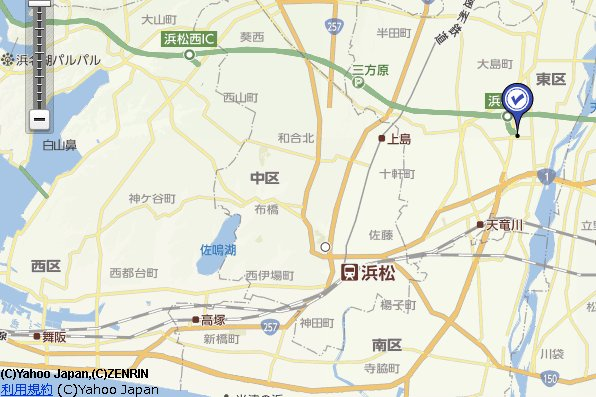 静岡浜松古銭記念硬貨地図