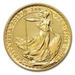 買取価格比較表  ブリタニア金貨
