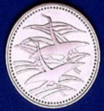 皇太子殿下御成婚記念硬貨500円表